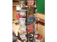 shop stand for blu-rays dvds inc joblot