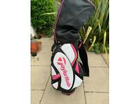 Ladies Golf Clubs + Golf bag
