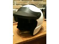 HEDTEC open face helmet /SA2010 size L use for motorsport/sprint or motocycle as new