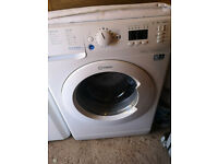 Indesit Washing Machine 8kg Load 1400 Spin Less than a year old