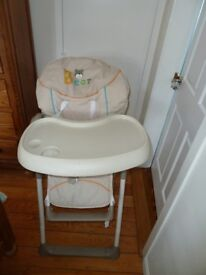 Hauk Sit n Relax and High Chair