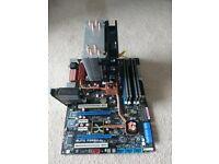 ASUS Blitz Formula Motherboard, Intel Q8200 Processor, Corsair Dominator 4GB DDR2