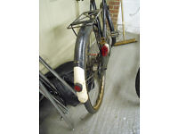1920's vintage raleigh bike