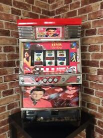 Elvis Presley The King Japanese Pachislo slot machine for sale. Licence no: 98763456