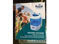 Camping / Motorhome washing machine