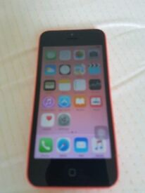 APPLE IPHONE 5C PINK COLOUR AND 16GB MINT AND ON EE, T-MOBILE AND ORANGE AND VIRGIN NETWORK.