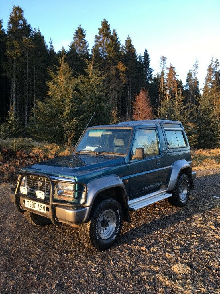 Daihatsu Fourtrak Riviera 2 In Denny Falkirk Gumtree
