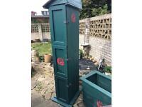 Three compartment garden storage unit