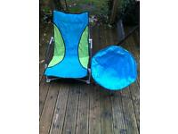 Beach fold up chairs