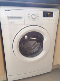 Beko WMB64131 6kg 1400 Spin White LCD A+ Rated Washing Machine 1 YEAR GUARANTEE FREE FITTING