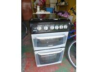 Cannon Gas Oven, Grill and 4 hobs Freestanding