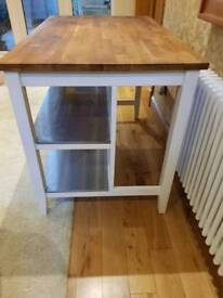 Ikea freestanding island