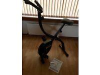 Roger Black Gold folding exercise bike. Uddingston