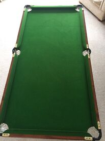 Junior Snooker and Pool table