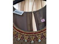 Indian long ball gown dress