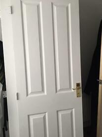 8x interior doors with handles & hinges £10 each