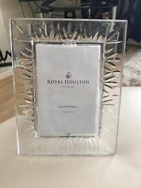 Royal Doulton photo frame