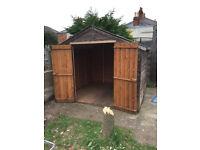 Garden Shed - 8ftx8ft - double doors