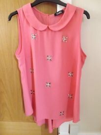 Pink Top Size 10