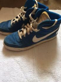 Nike trainers.