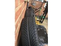 Four great alloy wheels, four bolt , ford , great condition