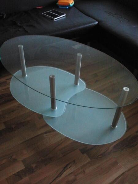 glastisch zu verkaufen in schleswig holstein flensburg couchtisch gebraucht kaufen ebay. Black Bedroom Furniture Sets. Home Design Ideas