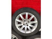 Peugeot alloys wheels