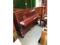 Steinhoff upright Piano ex display FREE Delivery uk ground floor free boxed stool