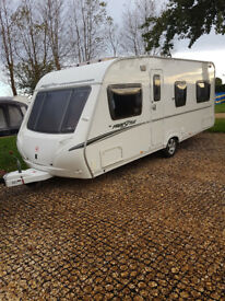 Caravan - Abbey Swift Freestyle 2007 - 4 Berth - Superb Condition - Fixed End Bedroom
