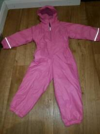 Girls snowsuit- age 3-4