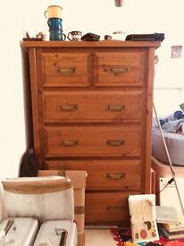 Lovely wooden chest