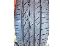 VW / AUDI SPARE WHEEL WITH NEW 215/55/16 TYRE