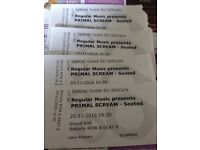 4 Primal Scream tickets