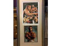 Signed Mike Tyson Picture