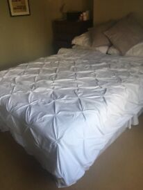 Barely used king bed