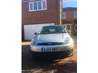 Ford Fiesta Finesse (Silver) 04 plate a great, well looked after little car