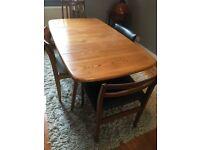 Beautiful mid-century wood dining table