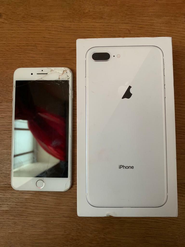 Apple iPhone 8 Plus 64GB in Silver - Unlocked  in Aberdeen  Gumtree