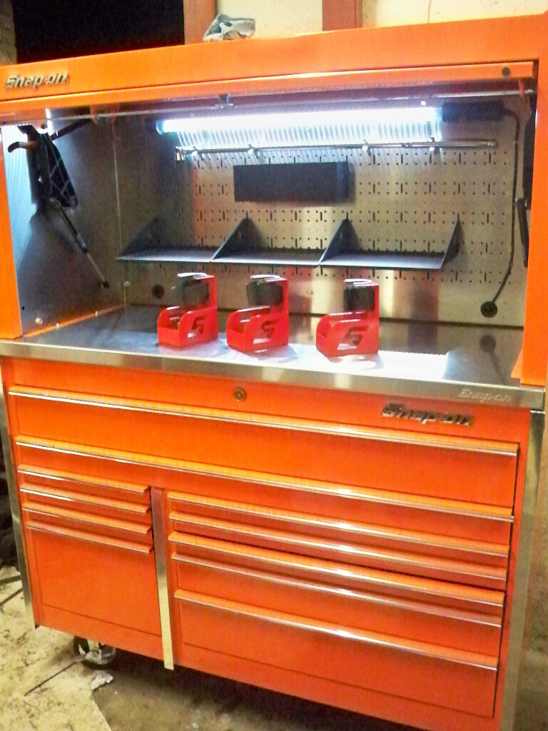 Snap On Krl Master Series 54 Quot Tool Chest Stainless With