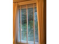 Wooden taped blinds