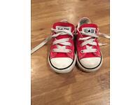 Converse - kids size 6