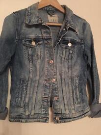 Vintage style denim jacket
