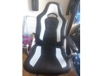 Chair w/ broken armrest - giving away for free