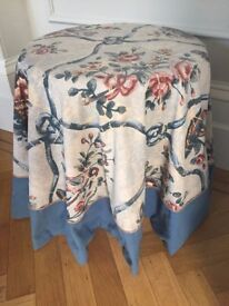 Custom made Table cloth in designer fabric