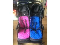 Joie double buggy for sale
