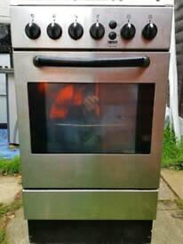 Silver zanussi gas cooker delivered today
