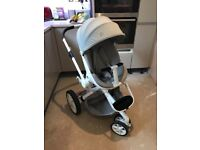 Quinny Moodd push chair and cot
