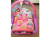 Fisher Price Baby Girl Playmat with Detachable Piano