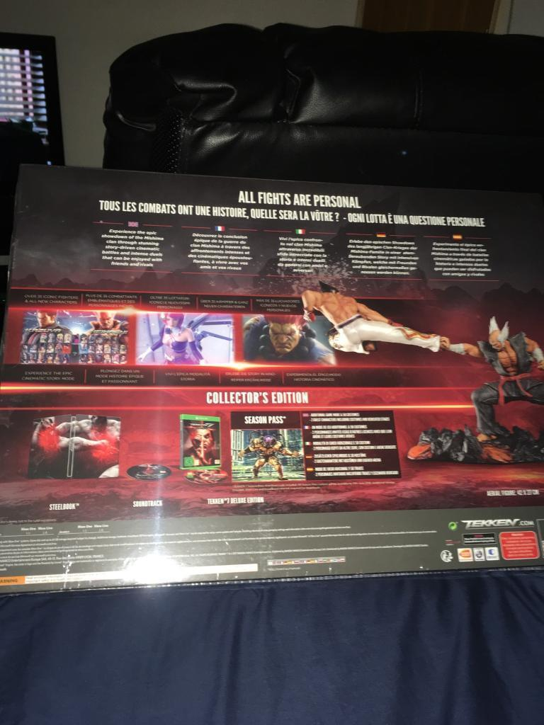 Tekken 7 Collectors Edition Xbox One In Archway London Gumtree Collector Ps4 Image 1 Of 4