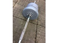 Barbell - York with 12,5kg of weights